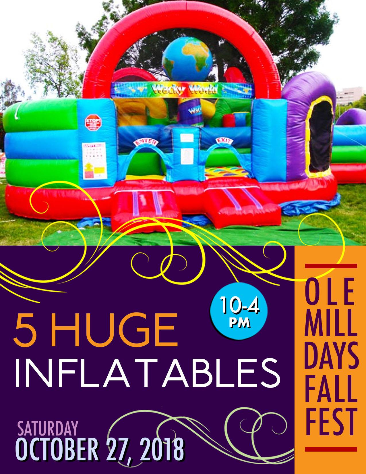 OLE MILL DAYS INFLATABLES