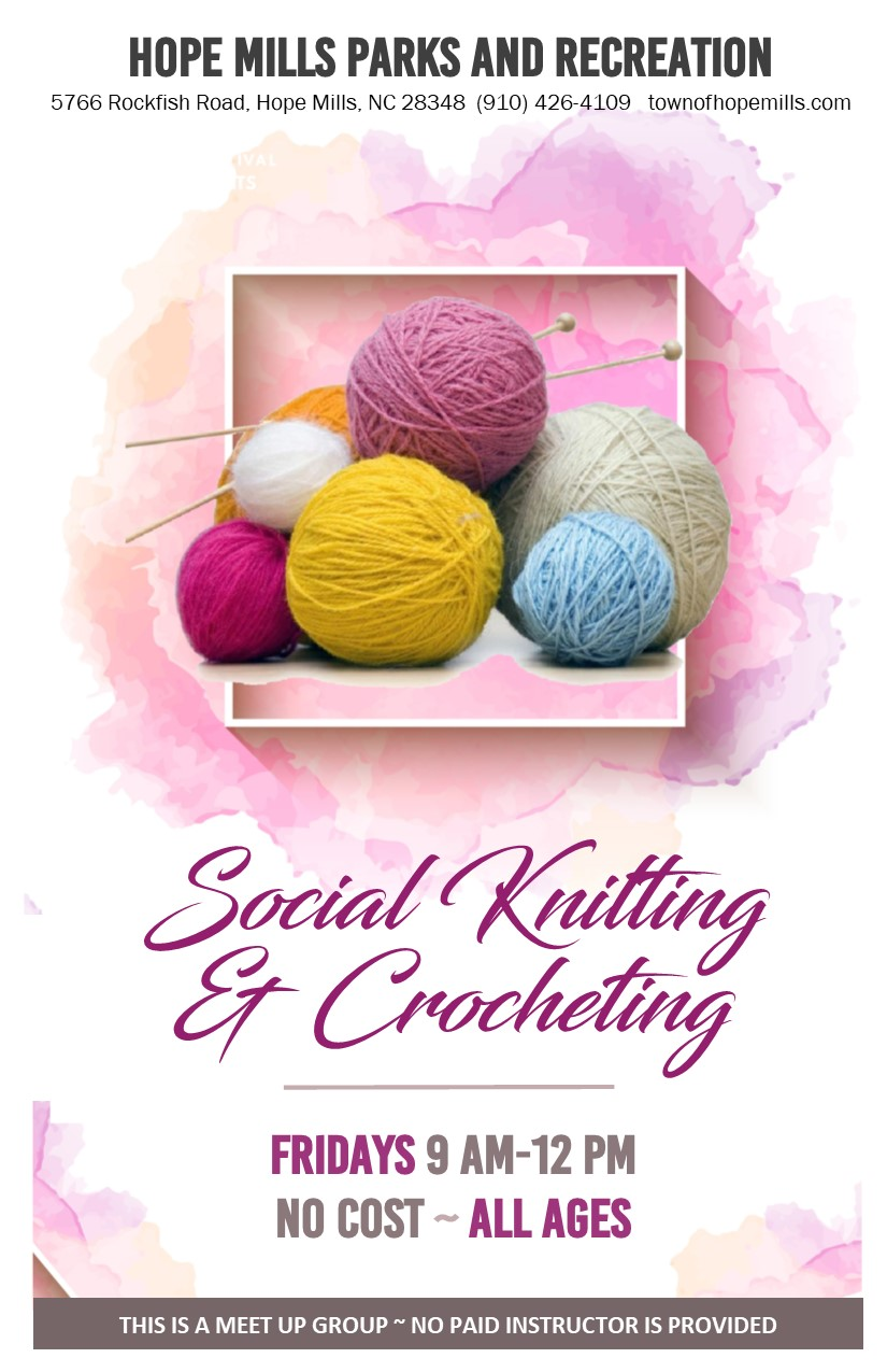 Social Knitting  Crochet
