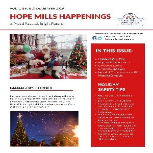 Hope Mills Happenings Newsletter, Volume 1, Issue 2 Dec 2019_Page_1