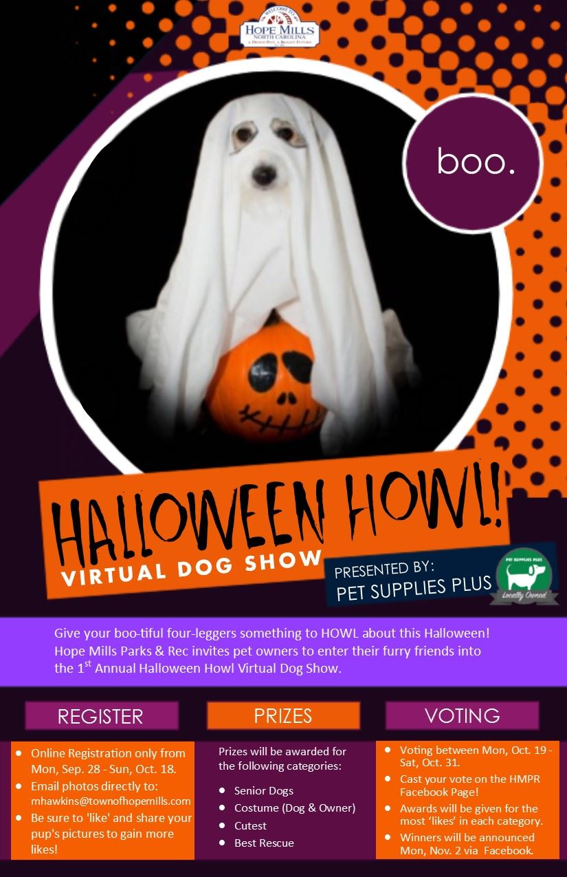 Halloween Howl Virtual Dog Show