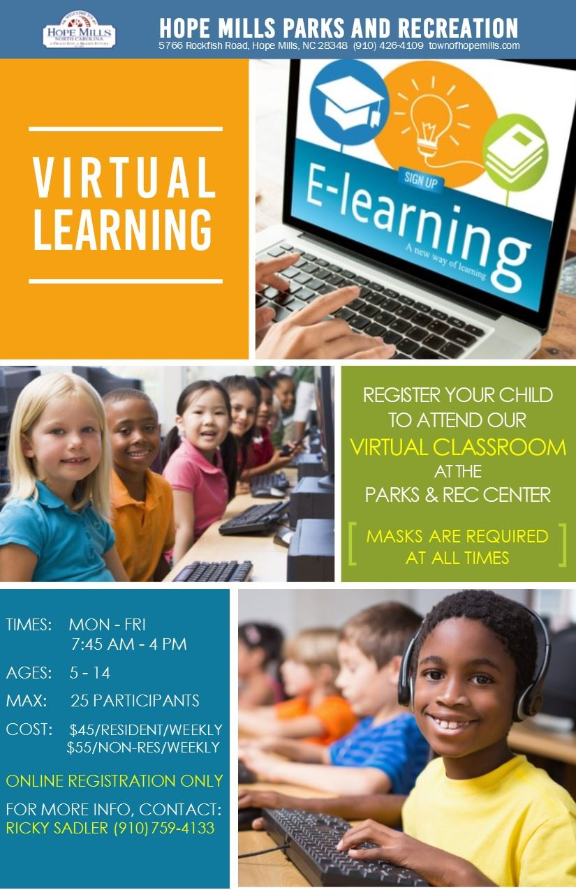 Virtual Learning Flyer January 2021