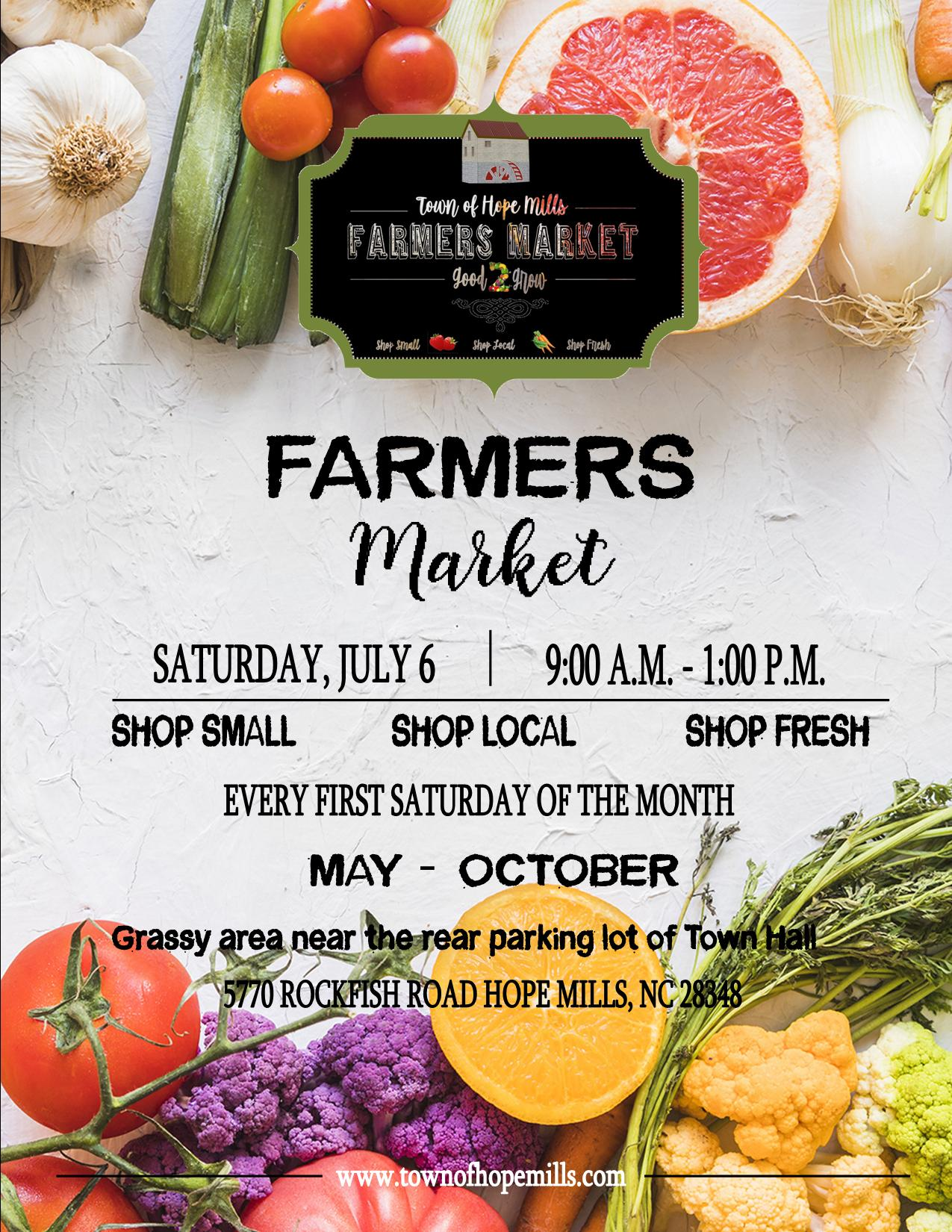 First Farmers Market Flyer
