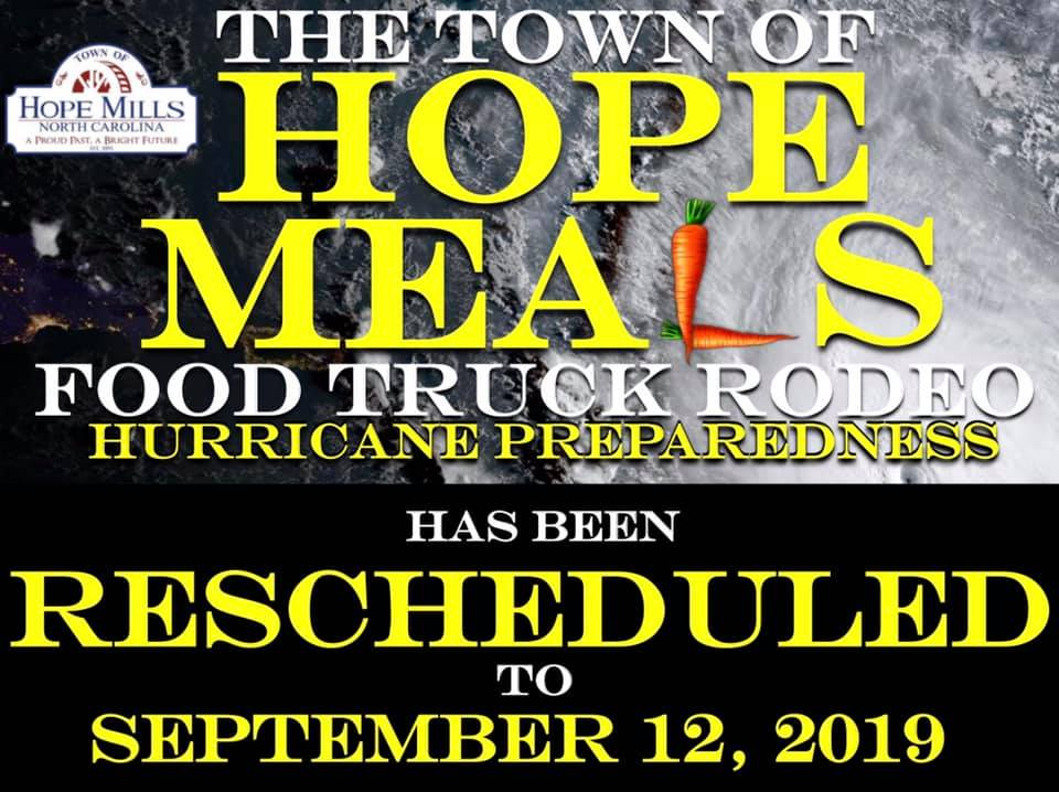 Food Truck Rodeo - Rescheduled to September 12, 2019
