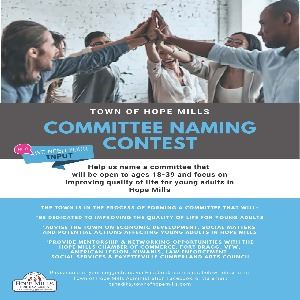Committee Naming Contest Flyer
