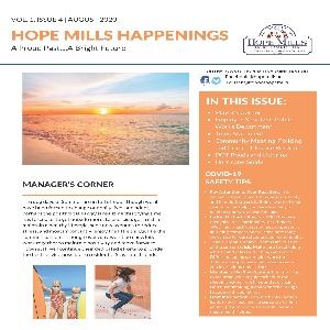 Hope Mills Happenings August 2020 Newsletter_Page_01