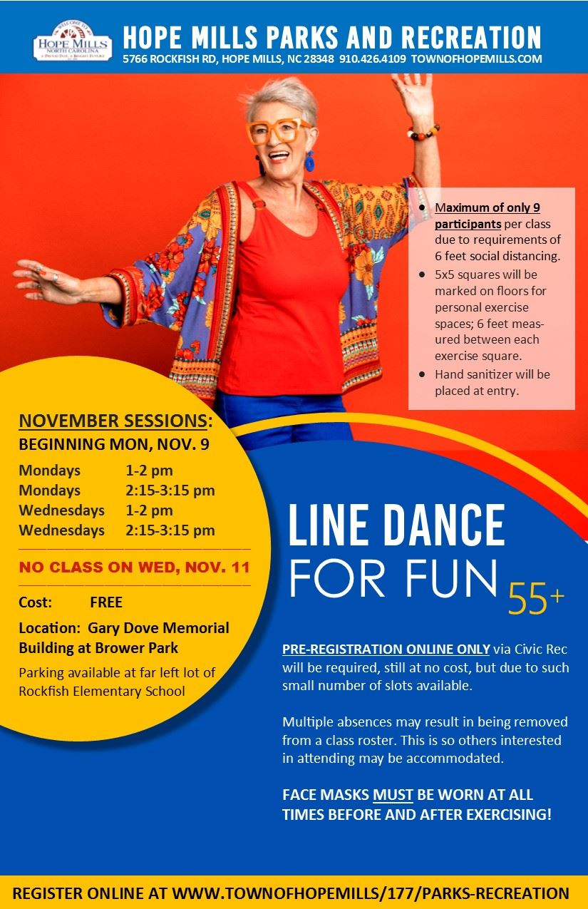 Line Dance for Fun Flyer