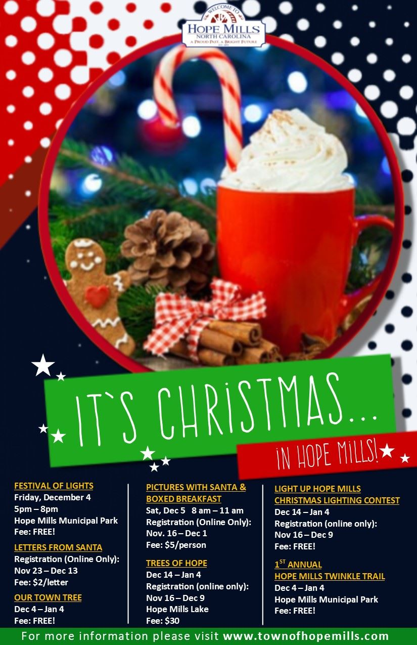 Christmas in HM All Events Flyer 2020