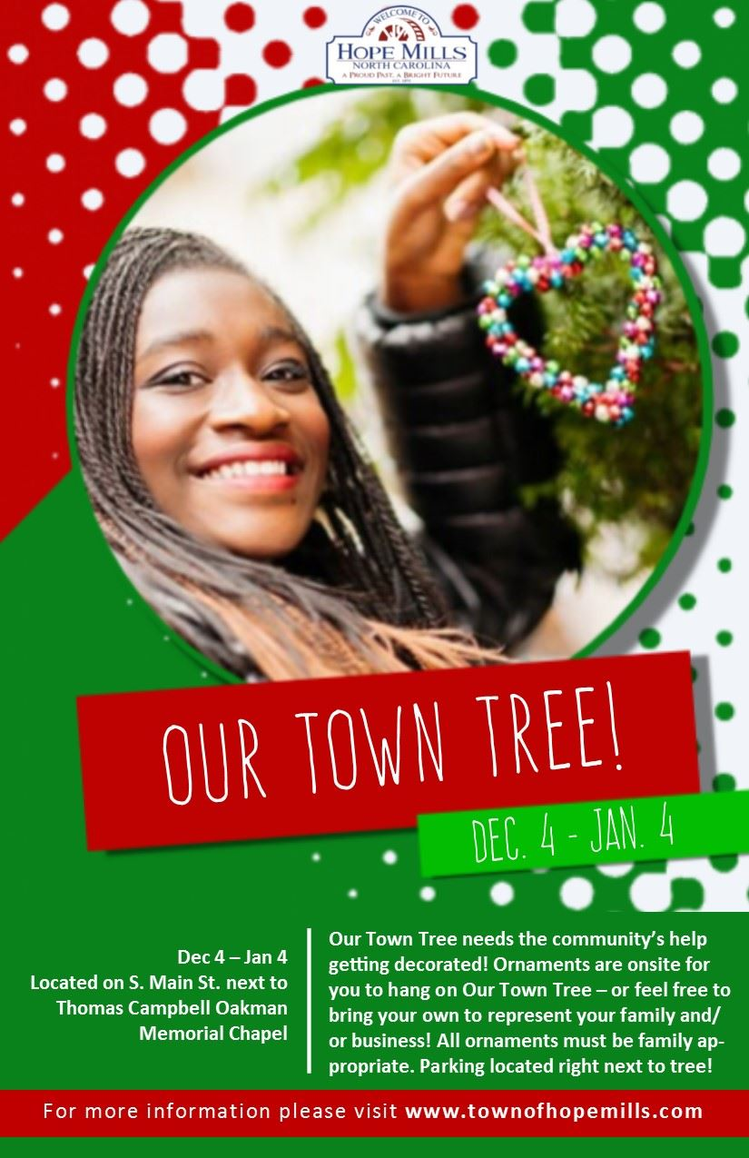 Our Town Tree Flyer 2020