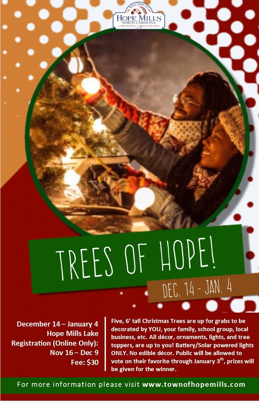 Trees of Hope Flyer 2020