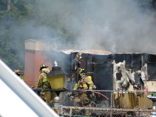 Trailer Fire Dutchess Dr. 06-19-08